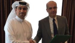Francesco Corbello e Fahad Al Gergawi