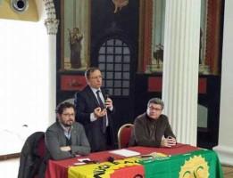 Borrelli e Peretti con Bonavitacola