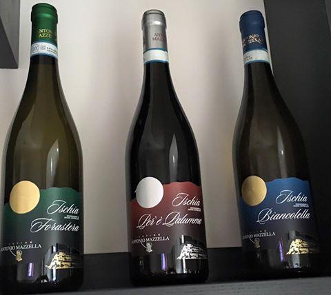 una parte della scelta dei vini campani