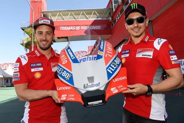 Nuovo partner per #DucatiCorse in #MotoGP ecco #Lenovo