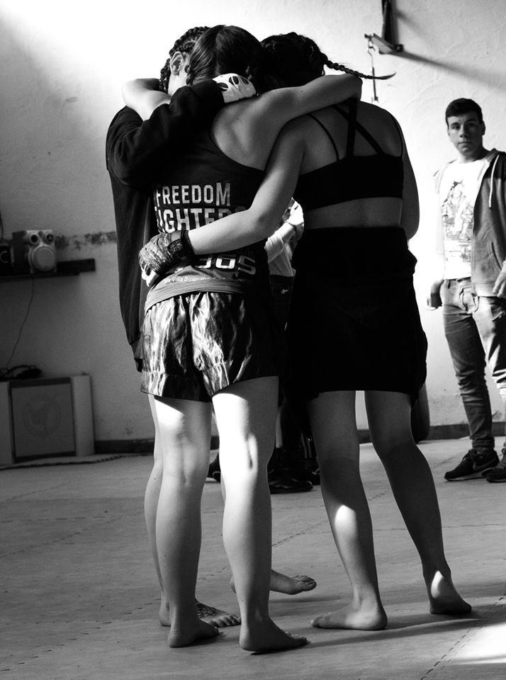 Legalità e autodifesa per le donne, esibizione di Gloria Peritore a San Giorgio a Cremano 1