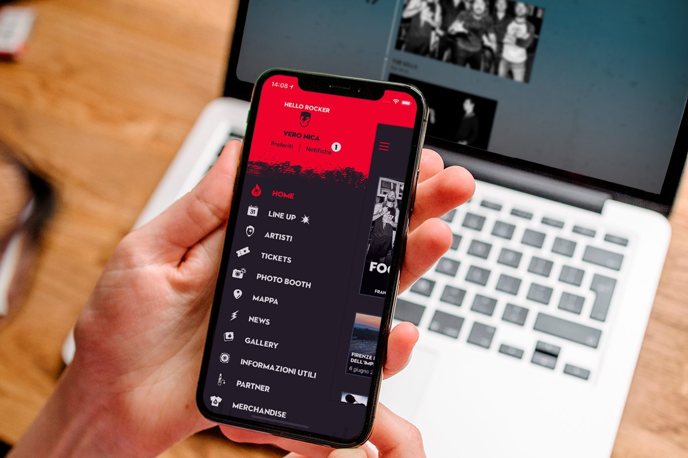 L'azienda campana Bitdrome scelta per l'app ufficiale del Firenze Rocks