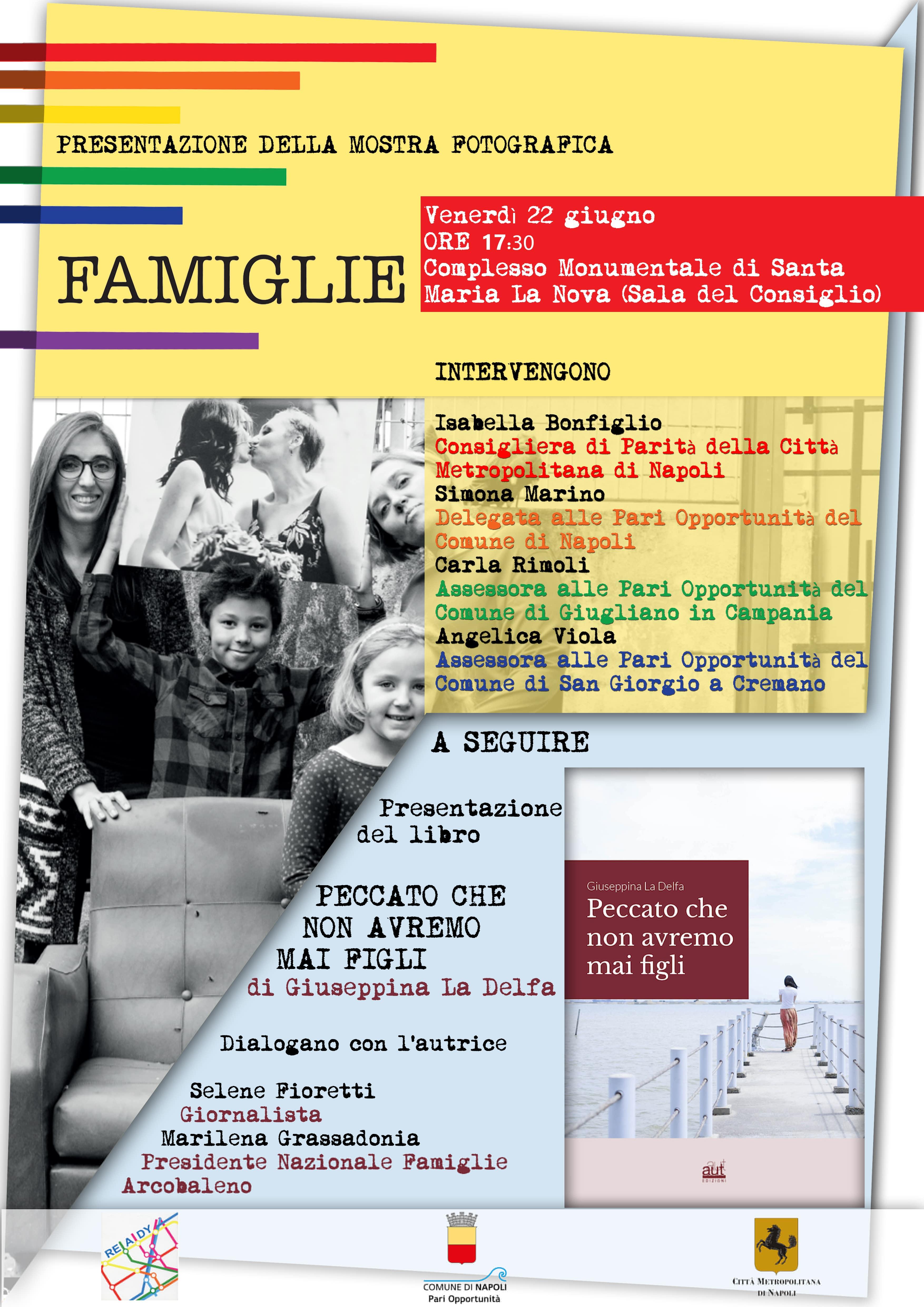 Vernissage Mostra Famiglie Arcobaleno Santa Maria La Nova