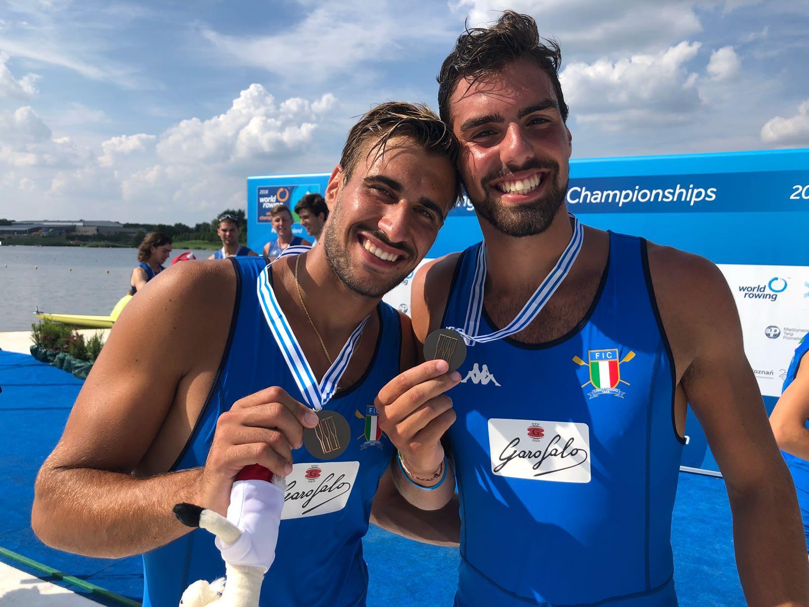 Canottaggio, Mondiali U23: due posillipininel team Italia medaglia di Bronzo