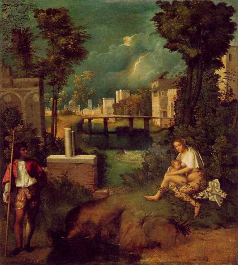 Giorgione in Galleria3 dipinti all'Accademia