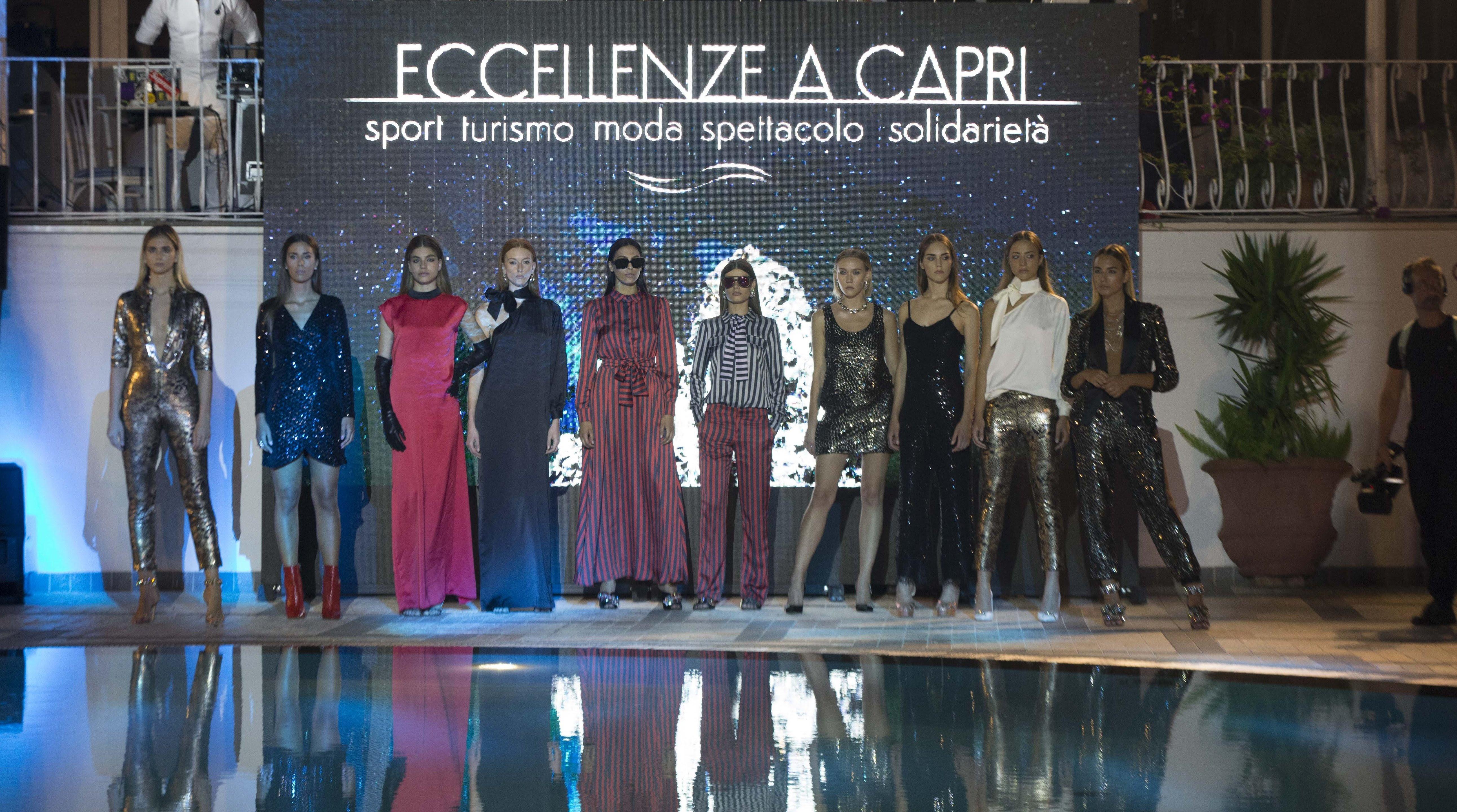 I miti del cinema ad Eccellenze a Capri. Tra spettacolo e solidarietà