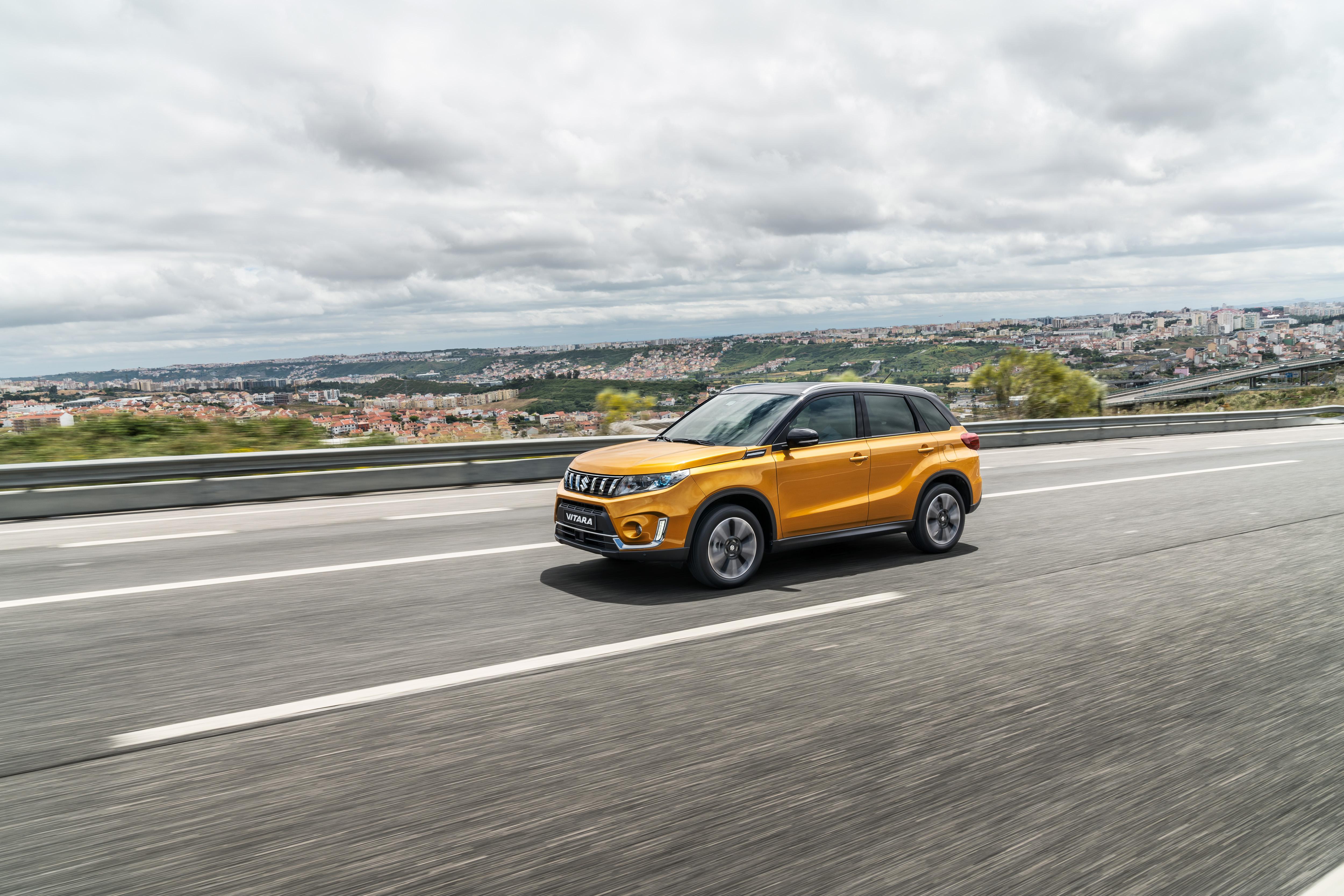 Nuova Suzuki Vitara, ecco le prime foto #suv 5