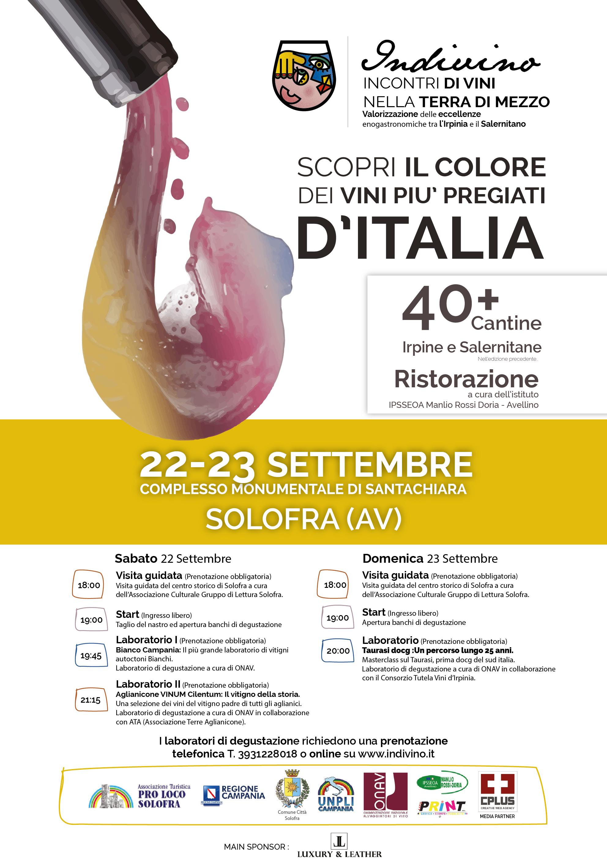 5°edizione di indivino unadue giorni alla scoperta delle eccellenze di Avellino e Salerno