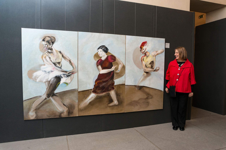 """Gli """"Attraversamenti"""" di Simonetta Funel: danza, ritratti, ricordi, storie al Maschio Angioino 10"""