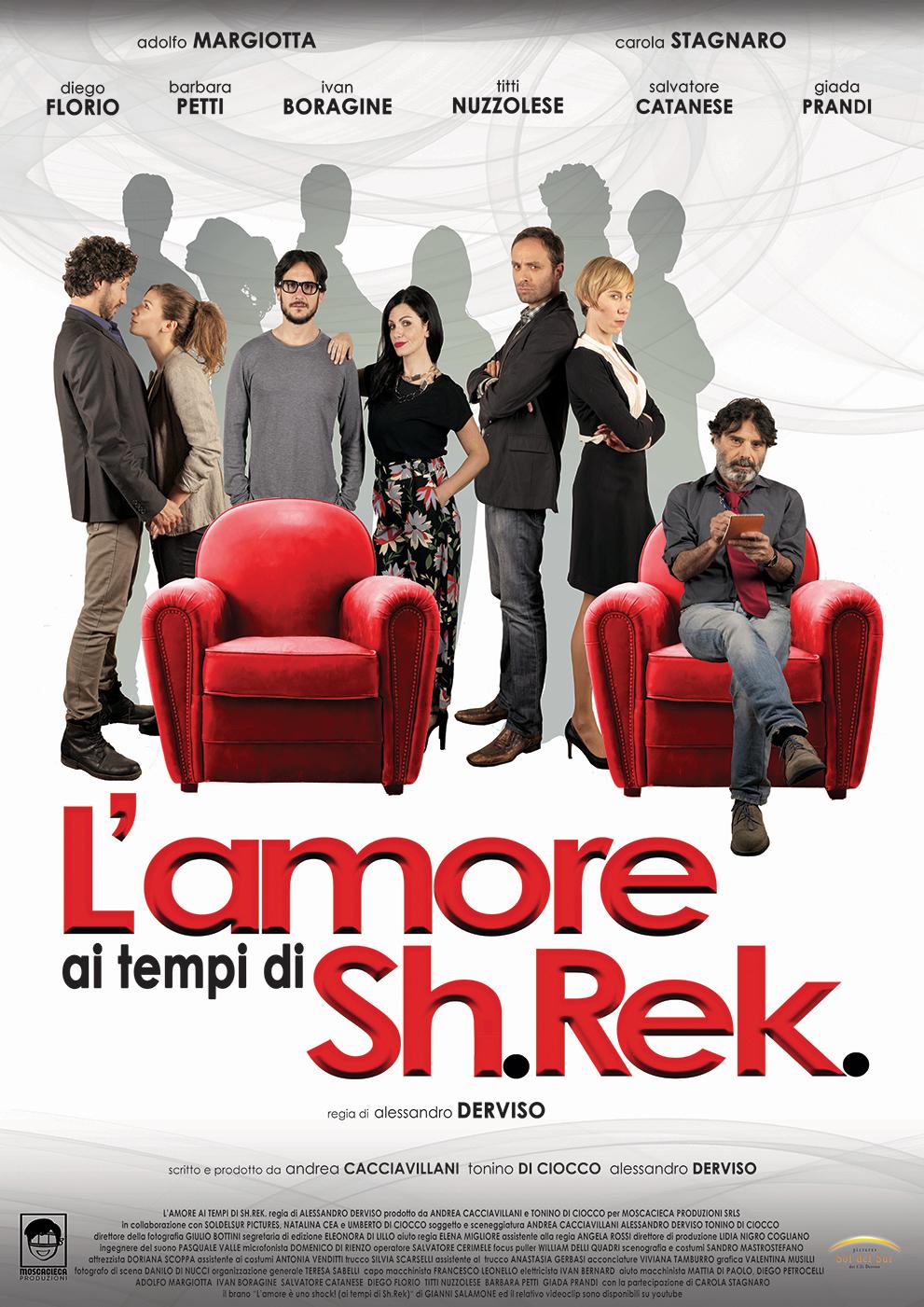 """L'AMORE AI TEMPI DI SH.REK."" - Première del film al Cinema La Perla"