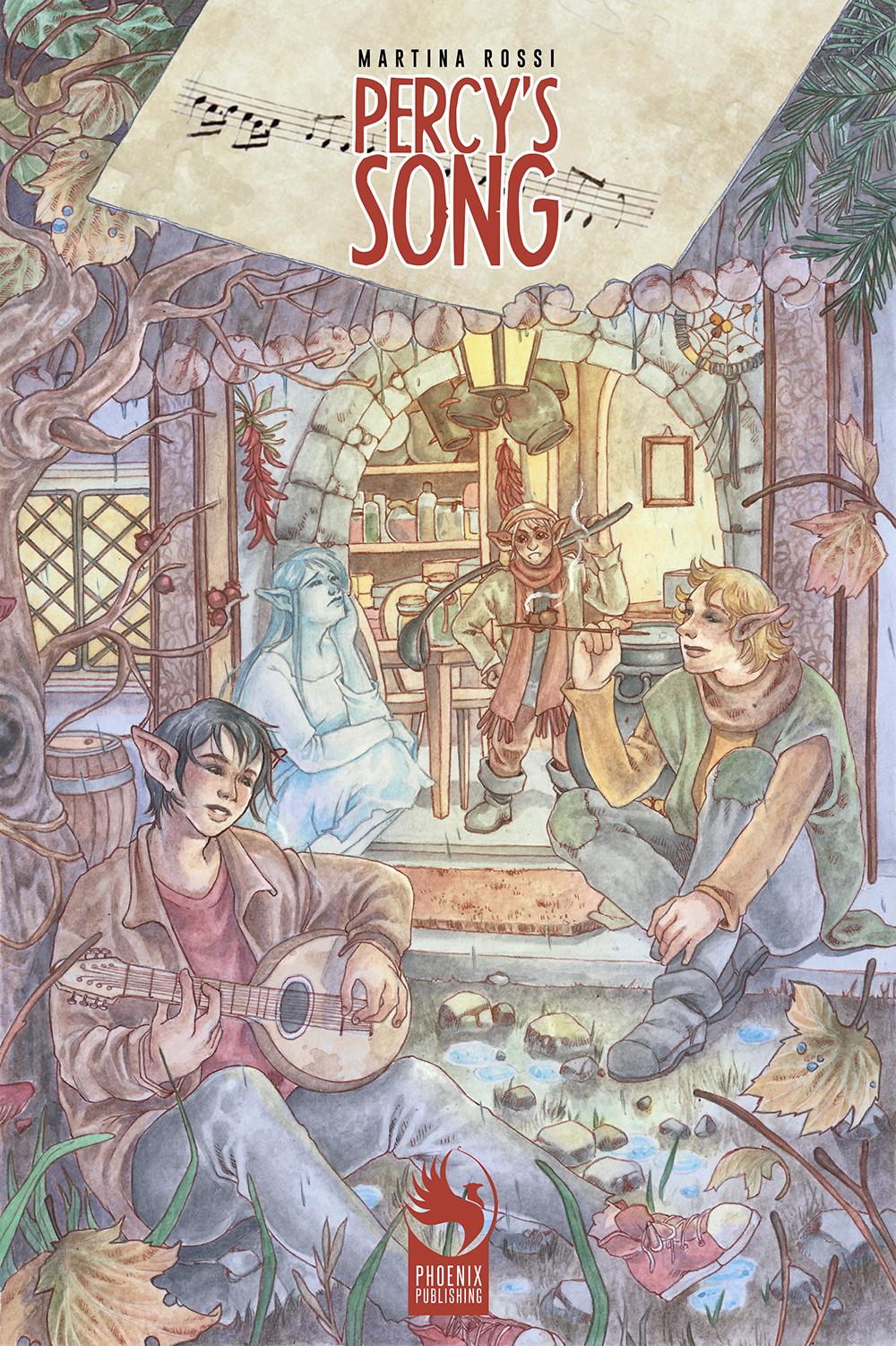 Percy's song il graphic novel di Martina Rossi, edizioni Phoenix Publishing, viene presentato a Roma