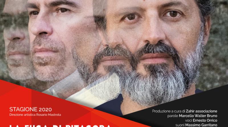 """LA NUOVA STAGIONE AL VIA  IL 23 GENNAIO CON """"LA FUGA DI PITAGORA"""" IN ANTEPRIMA NAZIONALE"""