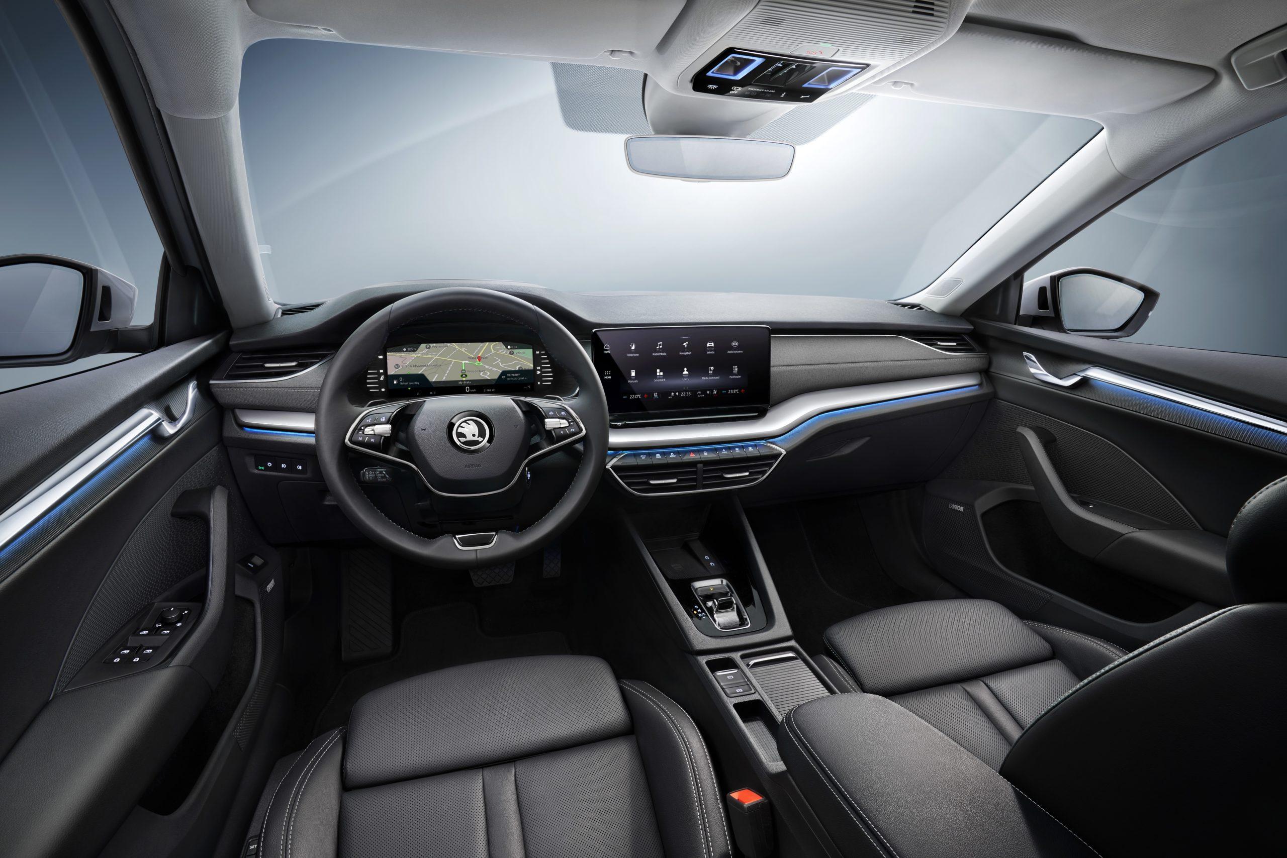 Nuova ŠKODA OCTAVIA berlina: spaziosa, pratica ed elegante come un coupé 2