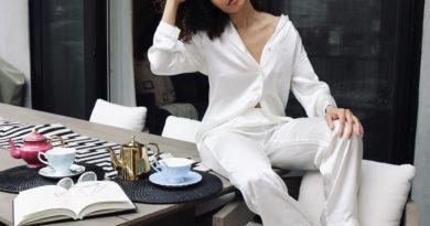 Smart working in pigiama? sì, ma che sia in seta e super chic 73