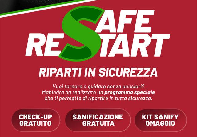 MAHINDRA SAFE RESTART: RIPARTI IN SICUREZZA DAL SERVICE