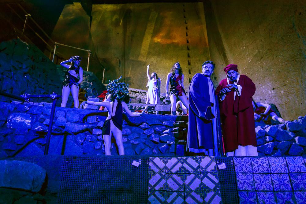 Estate 2020: tornano l'Inferno di Dante nelle Grotte di Castelcivita e il Paradiso al Castello Arechi
