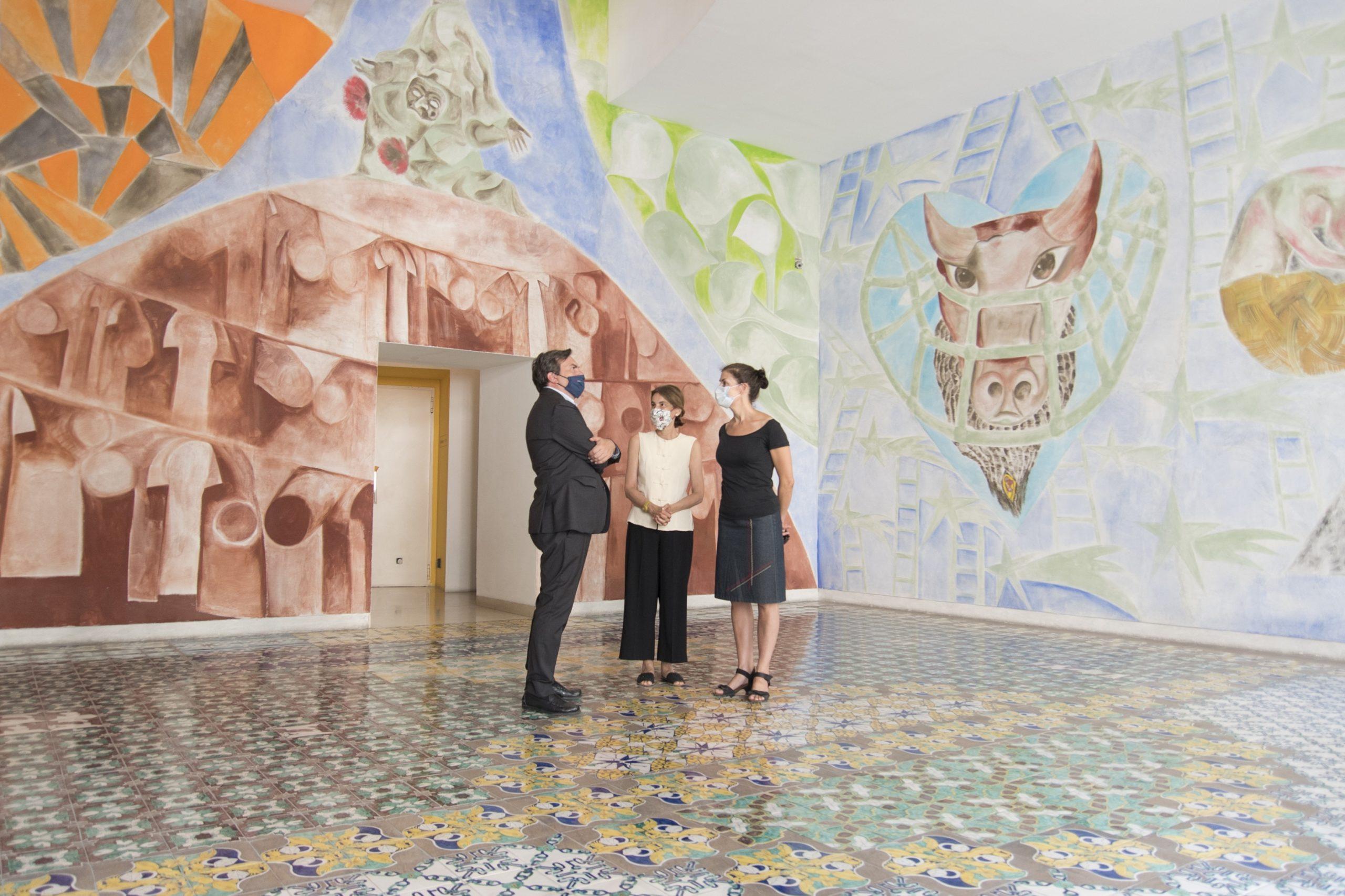 Il Ministro Amendola in visita privata al Madre